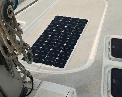 solpanel båt